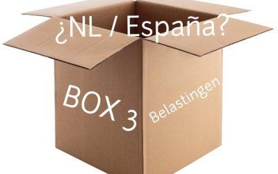 """BOX 3 """"vermogen"""": NL – España"""